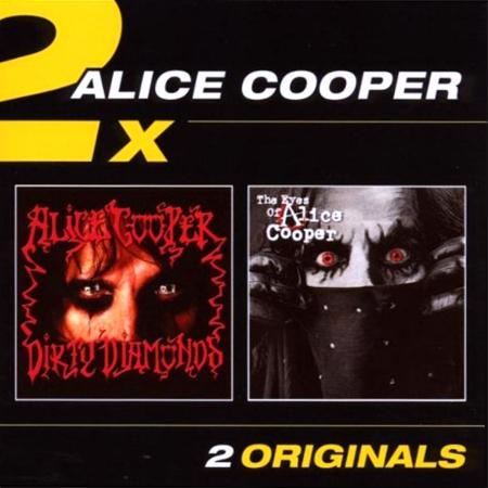 "ALICE COOPER ""Dirty Diamonds"" + ""The Eyes Of Alice Cooper"" /2CD Set/"