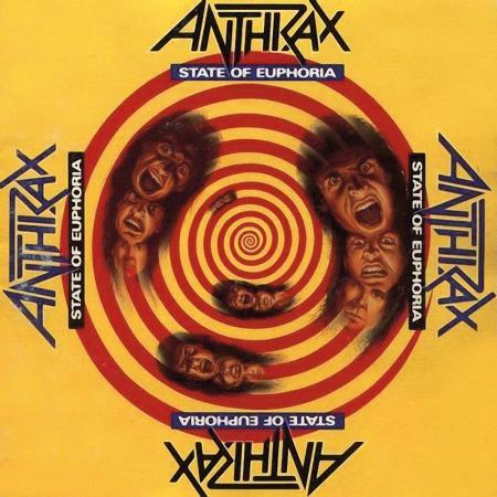 "ANTHRAX ""State Of Euphoria"" /CD/"