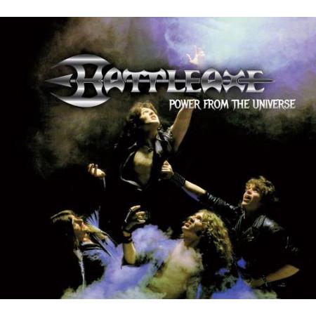 """BATTLEAXE """"Power From The Universe"""" /Digipack CD/"""