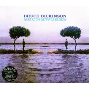 "BRUCE DICKINSON ""Skunkworks"" /Deluxe Expanded Edition Slipcase 2CD/"