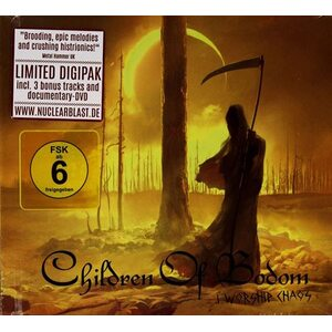 "CHILDREN OF BODOM ""I Worship Chaos"" /Ltd. Digibook CD + DVD/"