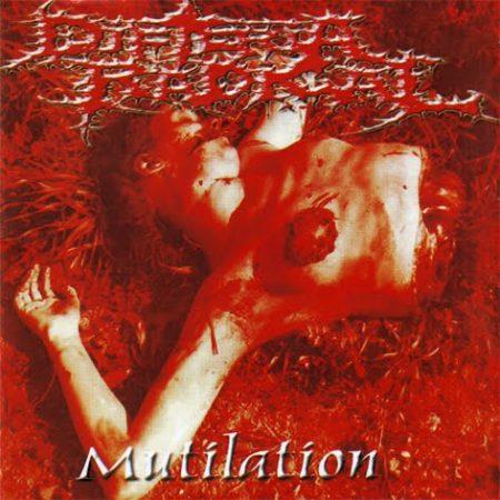 "DIFTERIA RADICAL ""Mutilation"" /CD/"