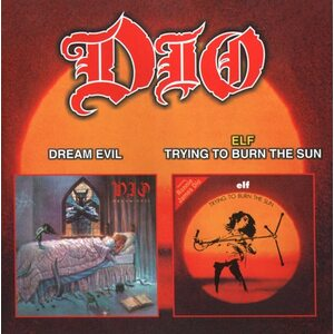 "DIO ""Dream Evil"" + ELF ""Trying To Burn The Sun"" /CD/"
