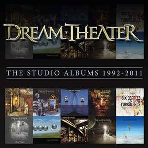 "DREAM THEATER ""The Studio Albums 1992 – 2011"" /11CD Box Set/"