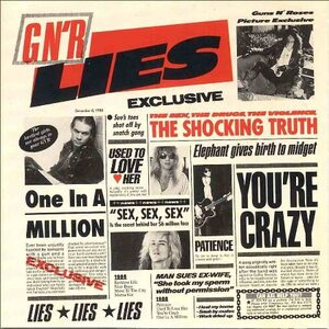 "GUNS N' ROSES ""GN'R Lies"" /CD/"