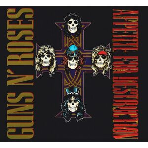"GUNS N' ROSES ""Appetite For Destruction - Deluxe Edition"" /Ltd. Deluxe 2CD/"