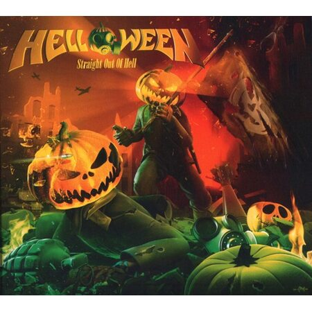 """HELLOWEEN """"Straight Out Of Hell"""" /Ltd. Digipack CD/"""