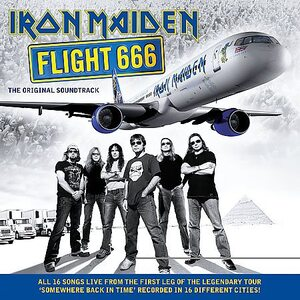 "IRON MAIDEN ""Flight 666 - The Original Soundtrack"" /2CD/"