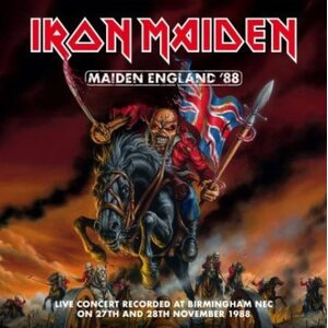 "IRON MAIDEN ""Maiden England '88"" /2CD; Live/"