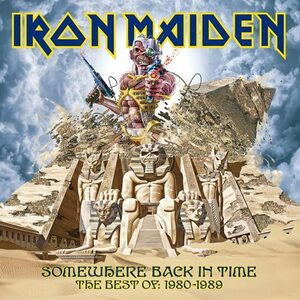 "IRON MAIDEN ""Somewhere Back In Time – The Best Of: 1980 - 1989"" /CD/"