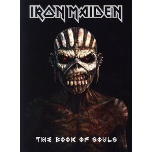 "IRON MAIDEN ""The Book Of Souls"" /Ltd. Deluxe A5 Slipcase 2CD Digibook/"
