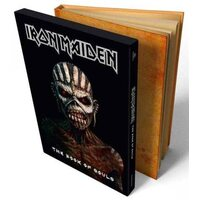 """IRON MAIDEN """"The Book Of Souls"""" /Ltd. Deluxe A5 Slipcase 2CD Digibook/"""