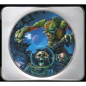 "IRON MAIDEN ""The Final Frontier – Mission Edition"" /Ltd. Tin-Box CD/"