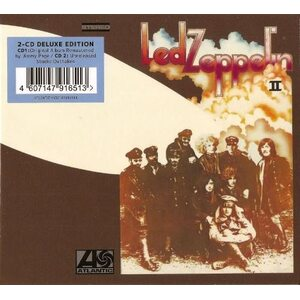 "LED ZEPPELIN ""Led Zeppelin II"" /Deluxe Edition 2CD Digisleeve/"