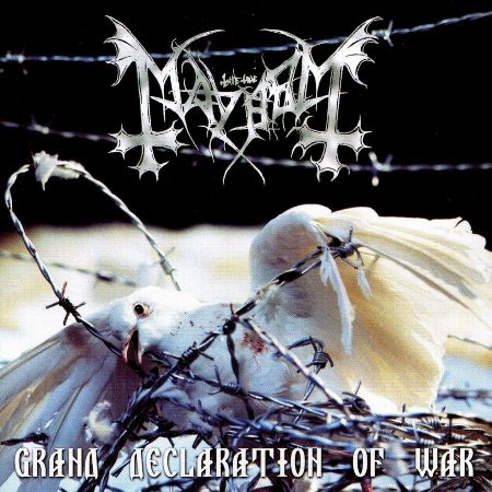 "MAYHEM ""Grand Declaration Of War"" /CD/"