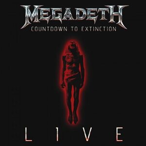 "MEGADETH ""Countdown To Extinction - Live"" /CD/"