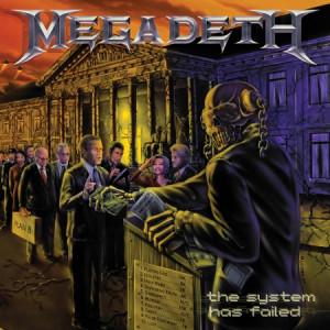 """MEGADETH """"The System Has Failed"""" /CD/"""