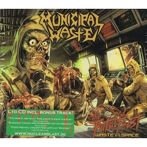 "MUNICIPAL WASTE ""The Fatal Feast - Waste In Space"" /Ltd. Slipcase CD/"