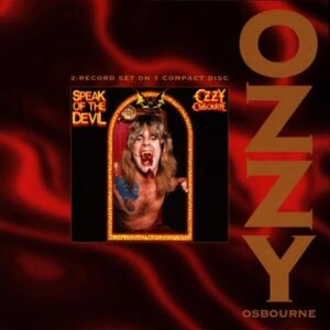 "OZZY OSBOURNE ""Speak Of The Devil"" /CD; Live/"