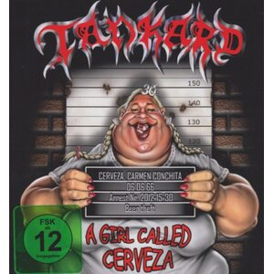 "TANKARD ""A Girl Called Cerveza"" /Ltd. Digibook CD + DVD/"