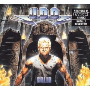 "U.D.O. ""Solid"" /Digipack CD/"