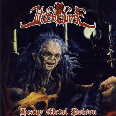 """WITCHCURSE """"Heavy Metal Poison"""" /CD/"""