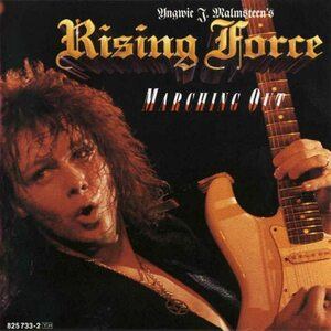 "Yngwie J. Malmsteen's RISING FORCE ""Marching Out"" /CD/"