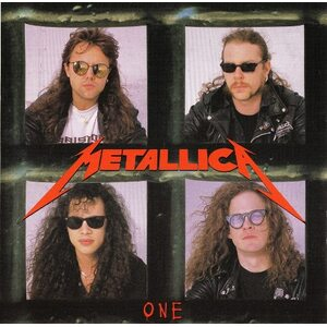 "METALLICA ""One"" /Ltd. Special Edition Red CD Single/"