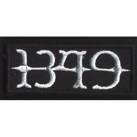 "1349 ""White Logo 2"" /Patch/"