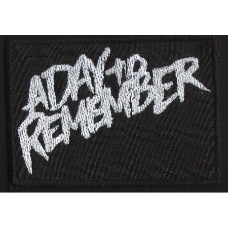 "A DAY TO REMEMBER ""Logo"" /Patch/"