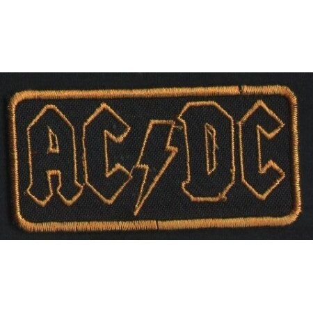 "AC/DC ""Golden Logo"" /Patch/"