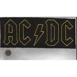 "AC/DC ""Yellow Logo"" /Backpatch/"