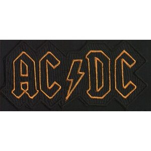 "AC/DC ""Yellow Logo"" /Cut Out Patch/"