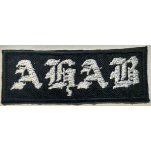 """AHAB """"Logo"""" /Patch/"""