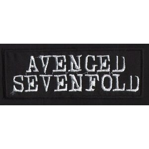 "AVENGED SEVENFOLD ""Logo"" /Patch/"