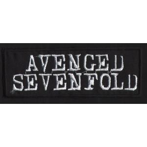 """AVENGED SEVENFOLD """"Logo"""" /Patch/"""
