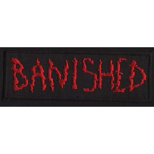 "BANISHED ""Red Logo"" /Patch/"