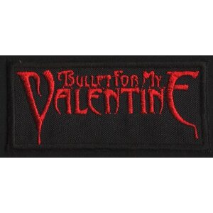 "BULLET FOR MY VALENTINE ""Red Logo"" /Patch/"