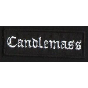 """CANDLEMASS """"Logo"""" /Patch/"""