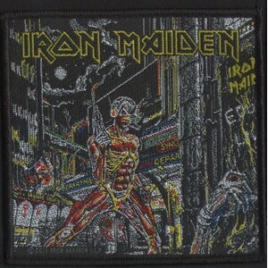 "IRON MAIDEN ""Somewhere In Time"" /Patch/"