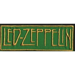 "LED ZEPPELIN ""Gold-Green Logo"" /Patch/"