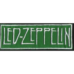 """LED ZEPPELIN """"Green Logo"""" /Patch/"""
