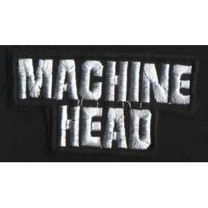 "MACHINE HEAD ""Logo"" /Cut Out Patch/"