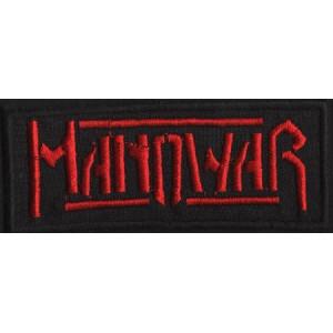"MANOWAR ""Red Logo II"" /Patch/"