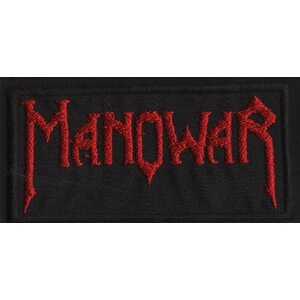 "MANOWAR ""Red Logo"" /Patch/"