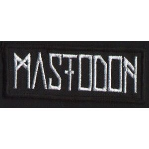 "MASTODON ""Logo"" /Patch/"
