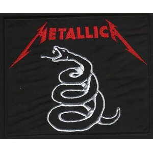 "METALLICA ""Snake Logo Red"" /Patch/"