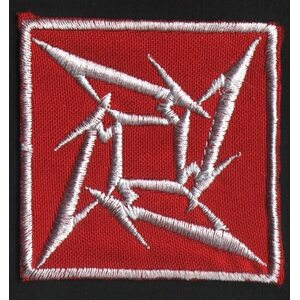 "METALLICA ""White Logo On Red"" /Patch/"
