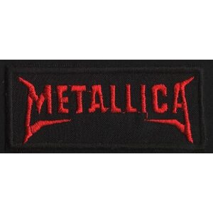"METALLICA ""Red Logo III"" /Patch/"