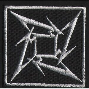 "METALLICA ""Logo White"" /Patch/"